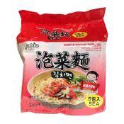 Korean Noodle Kimchi Flavor 4.23oz(120g) 5 Packs