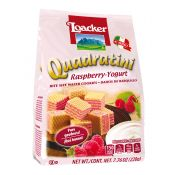 Quadratini Raspberry Yogurt 7.76oz(220g)