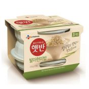 Hatban Cooked Sprouted Brown Rice 7.4oz(210g) 3 Packs