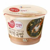 Cooked White Rice with Seaweed Soup 5.9oz(167g)