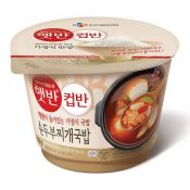 Cooked White Rice with Soft Tofu Stew 6.1oz(174g)