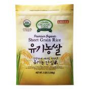 Organic Short Grain Rice 3lb(1.36kg)