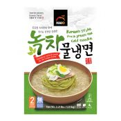 Korean Style Fresh Green Tea Cold Noodle 2.21lb(1.01kg)