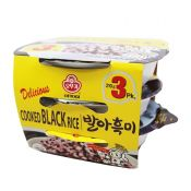 Cooked Black Rice 7.4oz(210g) 3 Packs