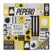 Lotte Pepero White Cookie 4 Packs Gift Set 4.51oz(128g)