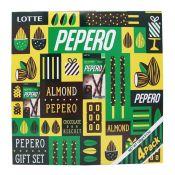 Pepero Almond 4 Packs Gift Set 4.51oz(128g)