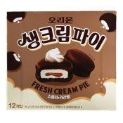 Fresh Cream Pie Chocolate & Caramel 0.77oz(22g) 12 Packs