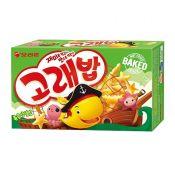 Seafood Shaped Crispy Snack Multi Pack 5.64oz(160g)