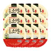 Soban Cooked White Rice Box 7.4oz(210g) 12 Packs