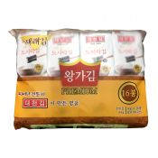 Premium Roasted Seaweed 0.14oz(4g) 16 Packs