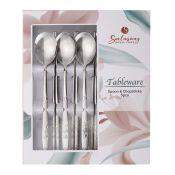 Rose Spoon and Chopsticks 5 Set