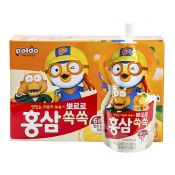 Ginseng Pororo Orange 3.38oz(100ml) 10 Pouches