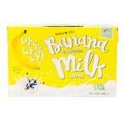 Banana Flavored Milk Drink 6.76 fl.oz(200ml) 6 Packs