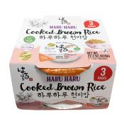 Cooked Brown Rice Premium 7.4oz(210g) 3 Packs