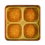 Chestnut Paste Mooncake 21.16oz(5.3oz X 4 Pcs)