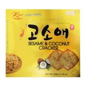 Sesame Coconut Cracker Big Size 11.29oz(320g)