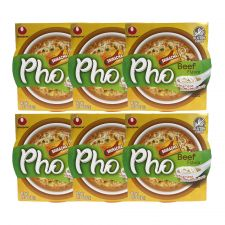Pho Beef Flavor with Sriracha Sauce 2.18oz(62g) 6 Cups