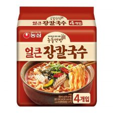 Jang Kal Guk Su Spicy Flavor 4.06oz(115g) 4 Packs