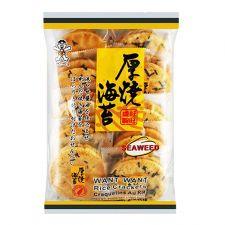 Seaweed Rice Crackers 5.6oz(160g)