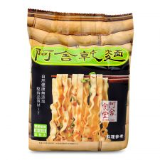 Hakka Wide Noodle Spicy Sesame Oil Flavor 3.35oz(95g) 5 Packs