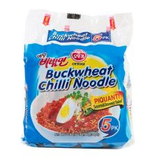 Buckwheat Chilli Noodle 4.58oz(130g) 5 Packs