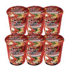 Seafood Flavor Noodle Soup 2.29oz(65g) 6 Cups