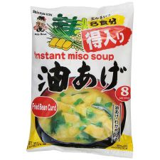 Instant Miso Soup Fried Bean Curd 6.21oz(176g)