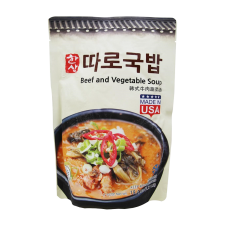 Beef and Vegetable Soup 1.21lb(549g)