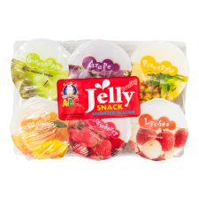 Fruity Jelly Snack Assorted Flavor  4.33oz(122g) 6 Cups