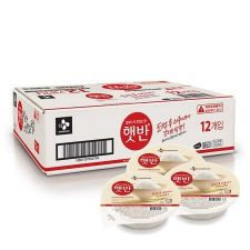 Hatban Cooked White Rice Box 7.4oz(210g) 12ea