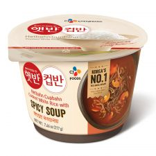 Cooked White Rice with Spicy Soup 7.65oz(217g)