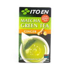 Matcha Green Tea Ginger Tea Bags 0.05oz(1.5g) 20 Tea Bags