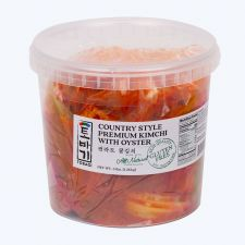 Premium Cabbage Kimchi with Oyster 3lb(1.36kg)