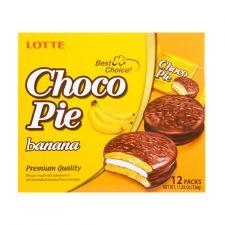 Choco Pie Banana 0.98oz(28g) 12 Pcs