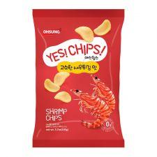 Yes! Chips! Shrimp Chips 3.7oz(105g)