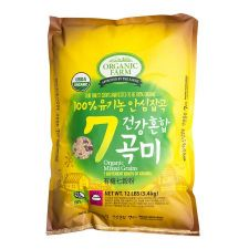 100% Organic 7 Mixed Grains 12lb(5.4kg)