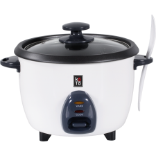 Rice Cooker with Glass Lid 3 Cups