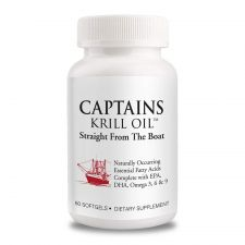 Captains Krill Oil 1,000mg 60 Caps