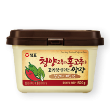 Seasoned Soybean Paste with Chili 1.1lb(500g)