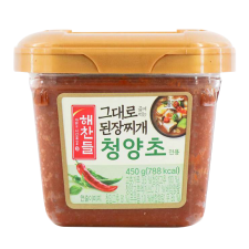 Soybean Paste for Stew (Hot Pepper Flavor) 15.87oz(450g)