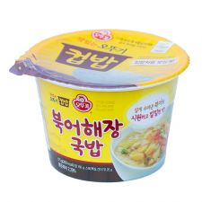 Cooked Rice Dried Pollack Soup 6.17oz(175g)