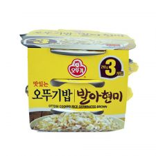 Cooked Brown Rice 7.4oz(210g) 3 Packs
