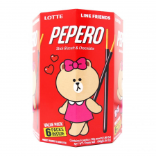 Pepero Original Multi Pack Line Friends 6.35oz(180g)