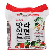 Assorted Vegetable Ramen 4.06oz(115g) 5 Packs