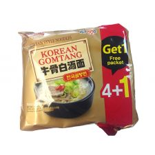 Korean Gomtang Ramen 3.88oz(110g) 5 Packs