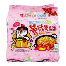 Carbo Hot Chicken Flavor Ramen 4.5oz(130g) 5 Packs