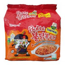 Topokki Hot Chicken Flavor Ramen 4.94oz(140g) 5 Packs
