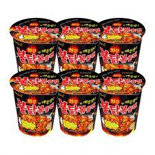 Hot Chicken Flavor Ramen Cup 2.47oz(70g) 6 Cups