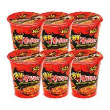 Extra Hot Chicken Flavor Ramen Cup 2.29oz(65g) 6 Cups