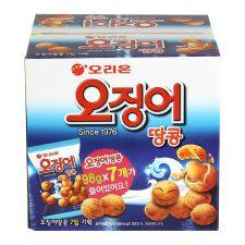 Peanut&Squid Ball Multi Pack Box 24.19lb(686g) (98g X 7ea)